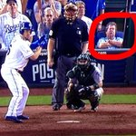 RT @hasselESPN: Check out the dude snoozing behind home plate right before Hosmer tripled http://t.co/wixzJHgXLx