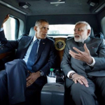Riding the Beast! @PMOIndia& @BarackObamatravel to Martin Luther King Memorial together http://t.co/uEhvGOqMUw #ModiMeetsObama