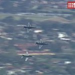 RT @9NewsSyd: A 19-gun salute and RAAF aircraft have farewelled outgoing NSW Governor, Dame Marie Bashir. #9Newscomau http://t.co/YXhfUkyUMv