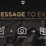 RT @EXOXOXOID: [MCM x EXO] 141001 MCM x EXO Collaboration on Site: MESSAGE TO EXO >http://t.co/MTuaL0id3e < http://t.co/8YH4lzdJo4