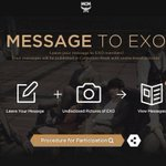 RT @wufanqins: Leave a message to EXO on MCM official website http://t.co/CxDTFsvEmZ http://t.co/pJZkhQDBTw