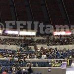 National Us crowd as of 1:35pm. Good job, Bulldogs! I hope marami rin ang FEU crowd tonight. ???????? http://t.co/QJXGC8LVBZ