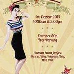 RT @BeveyJ: Dont forget this Saturdays #vintage & retro fair #Kent at Rainham Girls school http://t.co/1ctWqYgGef