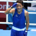 Boom Boom POW! Mary Kom has lived up to her promise - GOLD it is @MangteC #AsianGames2014 http://t.co/He4gWoWL35
