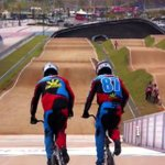 RT @piacayetano: BMX rider Danny Caluag wins the gold #AsianGames2014. Thats him on the right with brother Christopher. http://t.co/GjIAHFLqqG