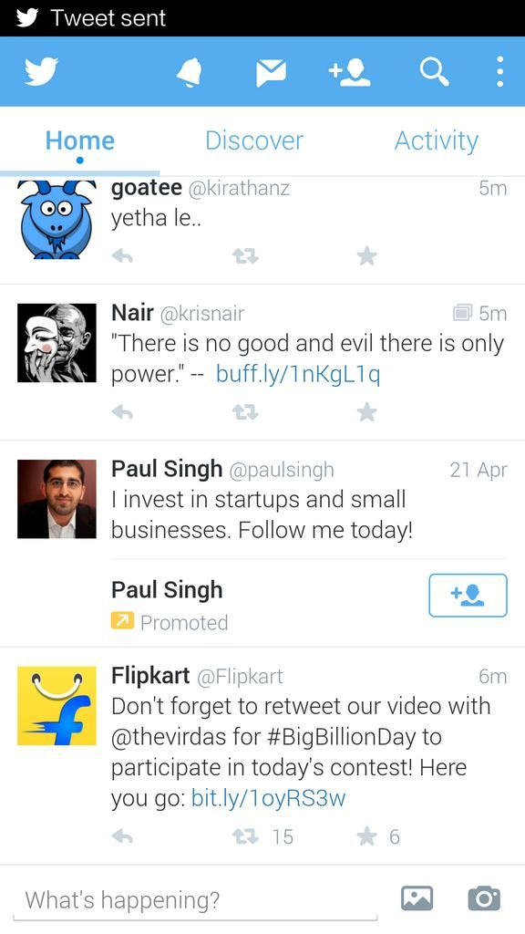 Dear @twitter, please discontinue self-serve ads. Too much of promoted noise coming our way :/ http://t.co/rUspHUnOPR