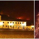 Sector de Villa de Leyva, en peligro por incendio forestal http://t.co/lTzIgVJCSL http://t.co/wBNsYkmiy8