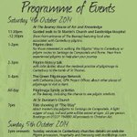 #Canterbury will celebrate its #pilgrim heritage this weekend. Join us and take part @The_Beaney #Canpilgrim #Events http://t.co/t3IVEdQXvf