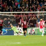 #AjaxKalender: Vandaag een jaar geleden speelde #Ajax ook 1-1 gelijk in de #UCL. Toen eveneens een dubieuze penalty.