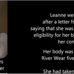 RT @AnitaBellows12: TORY POLICIES KILLED LEANNE CHAMBERS #CPC14 http://t.co/q8uSN662MO