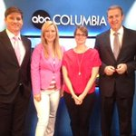 RT @CrystyWOLOTV: @GMA Goes Pink and so does the Good Morning Columbia crew @abc_columbia
