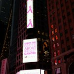RT @cedred714: Times Square is Pink!  @BrandedCities This is amazing! @EBeauty_Com @GMA #GoPink #LightTimesSquarePink