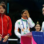 RT @FirstpostSports: The tearful rebel: Sarita Devis refusal to accept Asian Games medal in pictures. http://t.co/7b7QVYMDiR http://t.co/vJJJM6eaUD