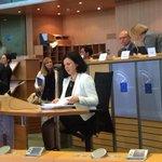 RT @OlgaSehnalova: Just started...#jourova http://t.co/5HewoxIyyf