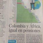 """Otro éxito de 20 años de Ley 100. """"Colombia y África igual en pensiones"""". Vía @ELTIEMPO http://t.co/SB4NakhBNy"""