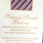 RT @DinaRich: Batik has meaning, Parang rusak suit for the leader, more choices of your wishes @PASARAYAindo #batikday http://t.co/E19dqx3vG9