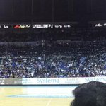 The craziness that is the Ateneo crowd today #UAAP77 http://t.co/zhmTp77DTB