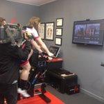 Cycle Worlds Body Geometry Fit, new technology for riders in #gigatowndun @DunedinTV http://t.co/lroJDnTq3n
