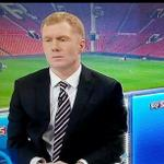 RT @Mark_J69: Paul Scholes after last seasons OT derby before he got all giddy about City drawing with the Italian league leaders. http://t.co/zmlDsEmDLf