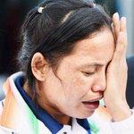 RT @timesofindia: #AsianGames medal distribution ceremony: Boxer #SaritaDevi refuses to wear her bronze medal - TV report http://t.co/RsNT7gJME5