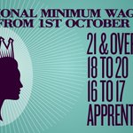 RT @bisgovuk: The National Minimum Wage changes today - get the facts here http://t.co/uSU7nRPmvv #NMW http://t.co/XmGDFcZ3sp