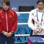 RT @ibnlive: A visually inconsolable Sarita Devi refuses to wear her bronze in protest: http://t.co/BuMBqhYNn2 #AsianGames2014 http://t.co/FmZtwYgZdG