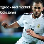 RT @Benzema: Jour de match !!! Match day !!! Día de partido !!! #HalaMadrid #allinrealmadrid #f50 #wearitorfearit http://t.co/48WZQRNK76