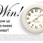 RT @NewgateClocks: ⭐️RT & FOLLOW to enter #win a #personalised Newgate Clock! #competition #wedding #giveaway #winitwednesday #newgate http://t.co/lNa698yyKE