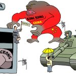RT @SCMP_News: Heres three cartoons by Dutch artist Arend van Dam on #OccupyHongKong and Beijing (Submitted to @SCMP_News) http://t.co/Uobn3RQOin