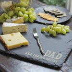 RT @TreatRepublic: #WinWednesday! RT&Follow to #win our Personalised Rustic Slate Cheese Board! #Cheese #CheeseyWednesday #YUM http://t.co/zM7uL5OKAO