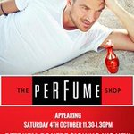 RT @ClarksVillageUK: Come on down to @ThePerfumeShop at @ClarksVillageUK this Saturday for a signed bottle of Peter Andre's new perfume. ht…