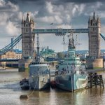 #london city scene with @towerbridge and NE Brasil alongside HMS Belfast http://t.co/jn90o5vmP7