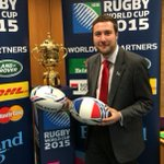 RT @Pete_Marland: Here is the #RWC2015 trophy doing a tour of #MK with one year to go until the tournament starts #toobigtomiss http://t.co/hM3G4FApFA