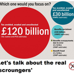.@David_Cameron any chance you'll talk about the real scroungers? #CPC14 http://t.co/BYiOgJZ1AT