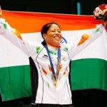 RT @LakshmiManchu: What a photo. I can feel her joy #maryKonquer #AsianGames2014