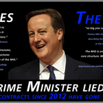 Cameron has a history of lying to us about his plans for our services. How many are in speech his today #CPC14 #NHS http://t.co/nLBppXAgvz