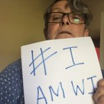#IamWI Taking a selfie while holding something on your other hand isnt easy http://t.co/pOGY8IQb6t