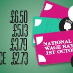 RT @bisgovuk: Dont forget, the National Minimum Wage rates have changed. For more information head to http://t.co/uSU7nRPmvv #NMW http://t.co/noYdPJC7Iy