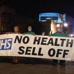 70% of #NHS contractsgoing to profit hungry private firms. Well done @PeoplesNHS for raising awareness #CPC14 http://t.co/csEkpQKPbj