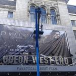 RT @DraculaUntoldUK: Preparations underway @ODEONCinemas West End, for tonights #DraculaUntold #London premiere. (pic c/o @nico_usamerica) http://t.co/iF6hCIHdTD