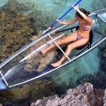 Que vista! Caiaque transparente permite ver até 22 metros de profundidade no mar http://t.co/wukliqNW8l #G1 http://t.co/0BA8h2K3WS
