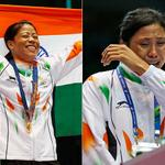 RT @Sports_NDTV: #AsianGames: Cheers for Mary, tears for Sarita. Click for more pics: http://t.co/jE5PK80csL