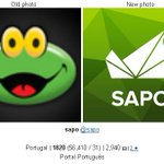"Vejo um telemóvel numa poltrona RT @bifeahcasa: novo logo do Sapo teve que ter escrito ""sapo"" para se perceber http://t.co/yobHWBWcBC"