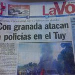"RT @VenezolanoPerro: ""@yincarliz: Esta dando frutos el ""plan desarme"" @NicolasMaduro http://t.co/eU4GHWZnul"""