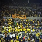 RT @OneFEU: That #BeBrave banner that roamed around the FEU gallery! ???? http://t.co/o2WgnlDPr1