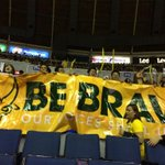 RT @OneFEU: The #BeBrave banner of the FEU Community.Sadly, Arena doesnt allow big banners. But still, twas awesome seeing this! http://t.co/6pfzvoUKGR