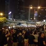 Admiralty #HongKong right now is a sea of lights #OccupyCentral #OccupyHongkong #UmbrellaRevolution http://t.co/uBhiRwDw78