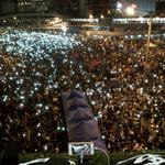Smartphone vigils again tonight. Still breathtaking, every time #OccupyHongKong http://t.co/hvk86xZiLA