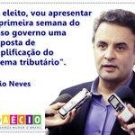 """@_souaecio: Se eleito, Aécio promete simplificar sistema de impostos. http://t.co/oPViCIul1i http://t.co/BGAhPekqKq"" #euvotoAecio45"