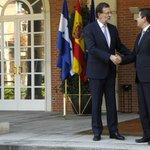 Reunión en La Moncloa con el presidente de Honduras, @JuanOrlandoH http://t.co/zVShAzWIaK